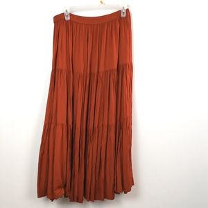 Tantrums Women's Red Full Skirt size Med